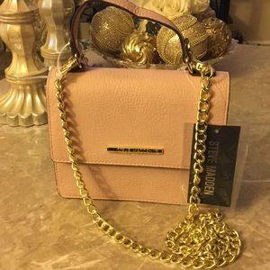 Small pink steve madden purse